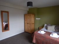 A double room to rent in shared Aviemore house. Central heating and wood burning stove.