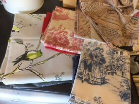 Shabby Chic Bits (fabric, stencils, brushes and more)
