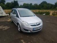 Zafira Exclusive 1.9L 5DR CDTI Diesel 1 year mot excellent condition