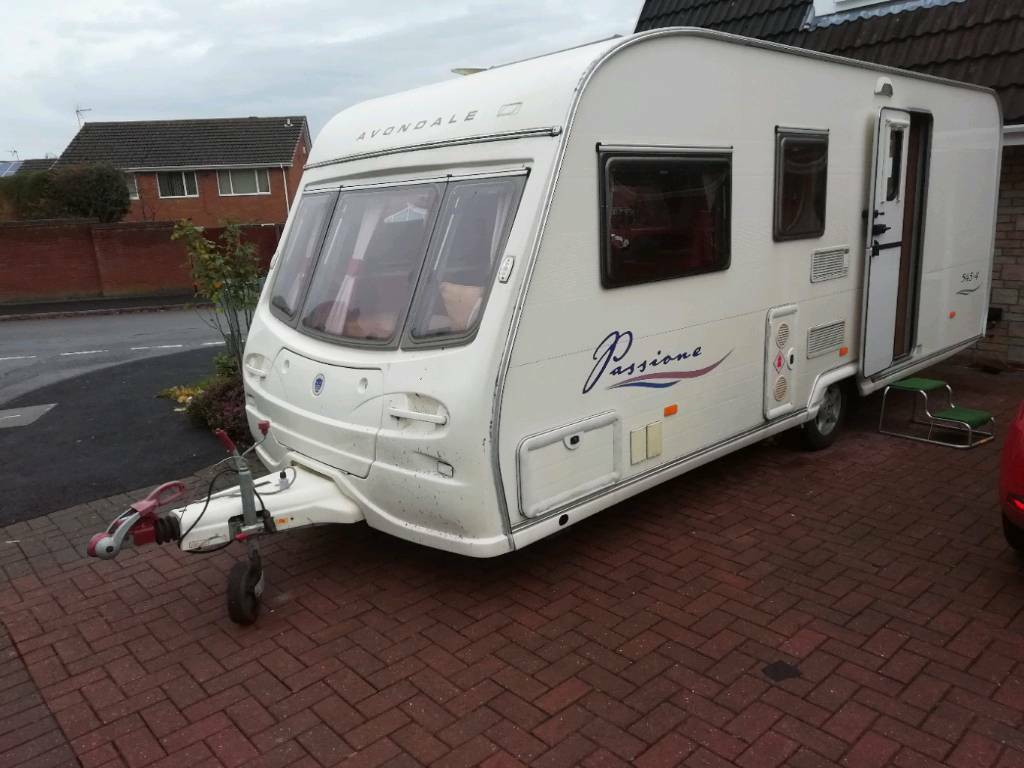 Immaculate Avondale 545 4 2006 Remote Mover Blow Up Awning Caravan