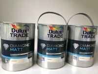 New Dulux Trade diamond matt magnolia