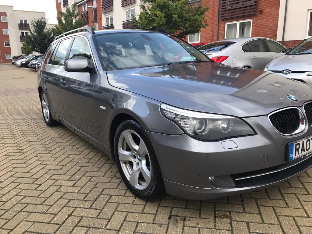 bmw 5 series estate 2006 2010 e61 facelift 2 0 520d se. Black Bedroom Furniture Sets. Home Design Ideas