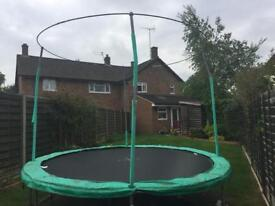 10ft Jumpking trampoline