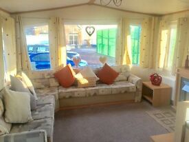 Double Glazed Central Heated static caravan for sale | 30 mins from Lakes | 2017 Site Fees Included