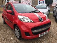"PEUGEOT 107 URBAN """"09 PLATE """" 1.0 PETROL !!!BRAND NEW CLUTCH !!! F/S/H 1 OWNER!!"