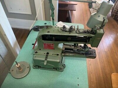 Lewis Union Special Model 200-1 Commercial Button Sewing Machine
