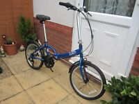 Folding Bike - Gents Size