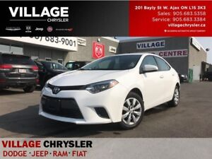 2016 Toyota Corolla LE Backup Camera,Heated Front Seats