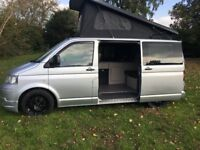 VW T5 TRANSPORTER POP TOP CAMPER MOTORHOME T4