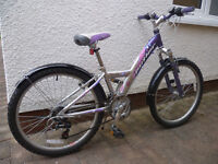 Girl's bike (9yrs – 14 years)