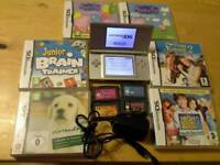 DS Light 11 Games + Charger