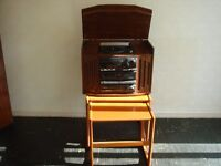 Retro music hi fi system with turntable £30