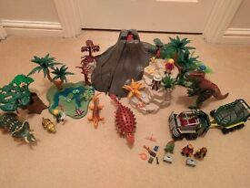 Playmobil Dinosaur Volcano Sets 5230, 5234, 5235, 5236 (see all photos)