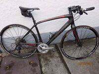 Specialized Sirrus Expert Carbon Flat Bar Road Bike