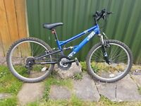 "Boys Apollo Sandstorm Mountain Bike 24"" Suitable for Age 8-11 years"