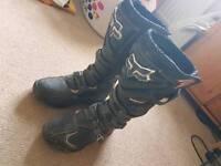 Fox comp 5 mx boots