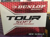 Dunlop tour golf balls X 17 brand new