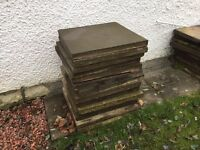24x 2x2 Paving slabs (collection only)