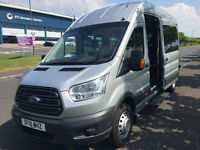 16 and 8 PASSENGER SEAT MINIBUS'S AND DRIVER FOR HIRE<BOOKING NOW FOR 2017 FESTIVALS.