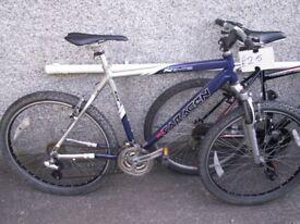 Saracen mountain bike alloy frame 24 gears