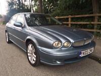 2003 Jaguar X Type V6 Sport Auto Low Miles Full Leather.
