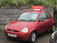 """BARGAIN""FORD KA 1.25 STYLE, 07 PLATE LIKE NEW LOW MILES £895 NO OFFERS"