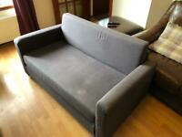 Ikea Sofa Bed 2 seater grey