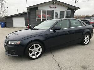 2009 Audi A4 QUATTRO|AWD|SUNROOF|LEATHER