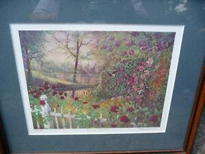"Listed Artist Peter Robson ""Summer Fragrance"" Limited Edition Stratford Kitchener Area image 1"