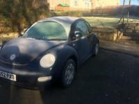 Vw beetle 1.6 1 years mot
