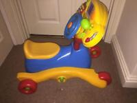 Vtech go n grow ride along bike