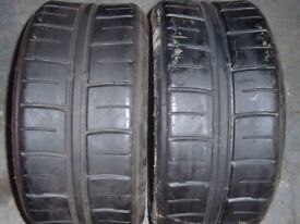 2 Avon tyres with tread 70/21/013
