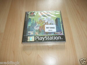 Sony Playstation 1 PS1 Game Scooby Doo and the Cyber Chase Brand New Factory S