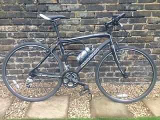 """Marin Hybird ALP series Fairfax 19"""" bicycle for sale with Abus lock"""
