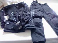 Akito XS dura guard fabric motorbike jacket and trousers hardley worn