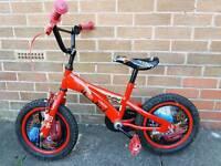 """Lightening McQueen 14"""" bike"""