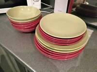 George Home Mixed Dinner Set