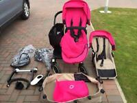 Bugaboo Donkey Duo in Pink v1.1