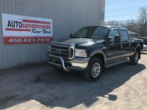 2005 Ford Super Duty F-250 FX4/King Ranch -- GARANTIE 1 AN/ 15 0