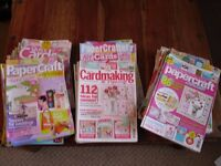 JOB LOT OF PAPERCRAFT MAGAZINES