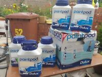 Dulux Paint Pod System with paints