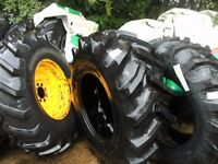 digger wheels tyres
