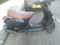 66 plate Vespa lookalike Chinese moped. Not vesap. Starts first time with few small scratches.