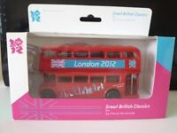 Corgi London Bus 2012 - Great British Classics - Olympics - Ty82319