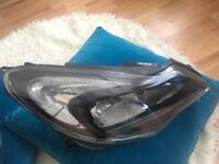 CORSA HEAD LIGHT BOTH SIDE E-2014-2018 USED CLOSED TO NEW NO DAMAGE OR SCRATCH