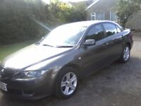 MAZDA 6 2-0 TS 16v 5-DOOR 2006 (56 PLATE) 96k MILES WITH FULL DOCUMENTED MAZDA SERVICE HISTORY.