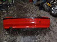 Genuine BMW E46 Compact se Red rear bumper