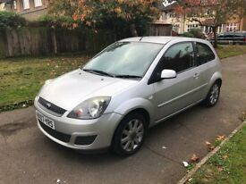 Ford Fiesta 1.25 Silver 3dr, p/x welcome, TRADE SALE, NEW CLUTCH AT 77000, FULL SERVICE HISTORY