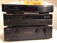 Classic Denon AM/FM Stereo Tuner TV 215RD