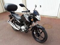 YAHAMA YBR 125CC 2016. EXCELLENT CONDITION. FULL SERVICE HISTORY.